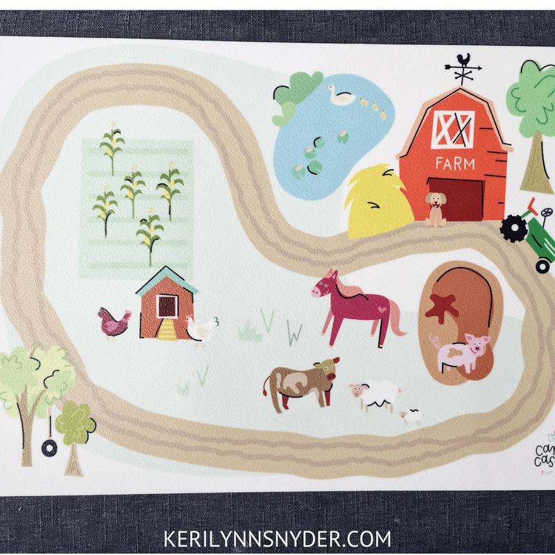 Preschool Girl Gift Ideas, Playmats, Lifestyle Blog