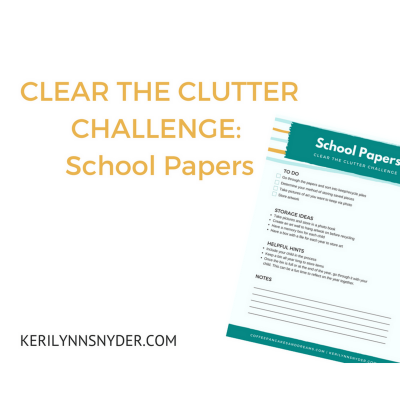 Tips for Organizing School Papers