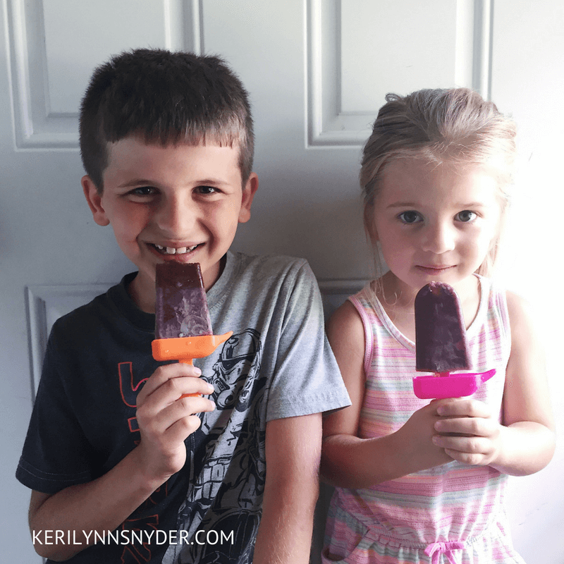 Summer Themed Activities, Make your own popsicles- Lifestyle Blog