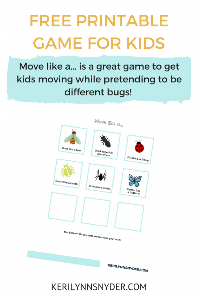 Bug Themed Activities for Kids- Lifestyle Blog