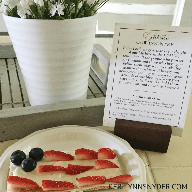 Fourth of July Family Fun- Lifestyle Blog