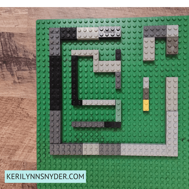 Lego Activities for Kids, Easy Lego Maze
