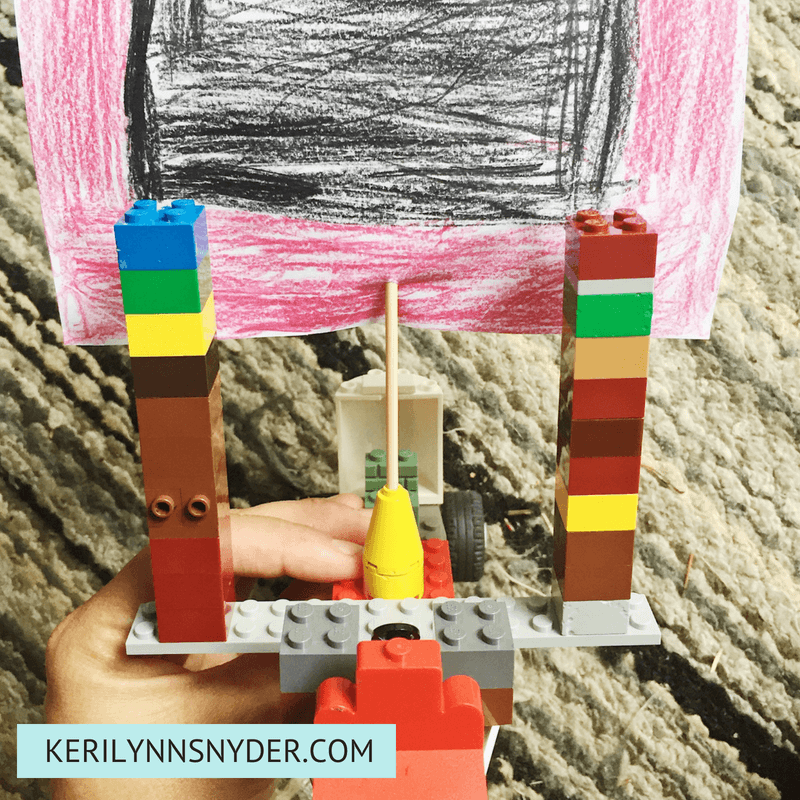 Lego Activities for Kids- Wind Car