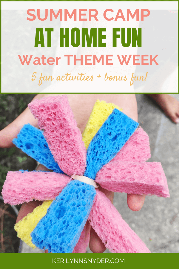 Water Themed activities for kids