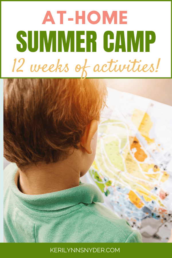 At home summer camp activities