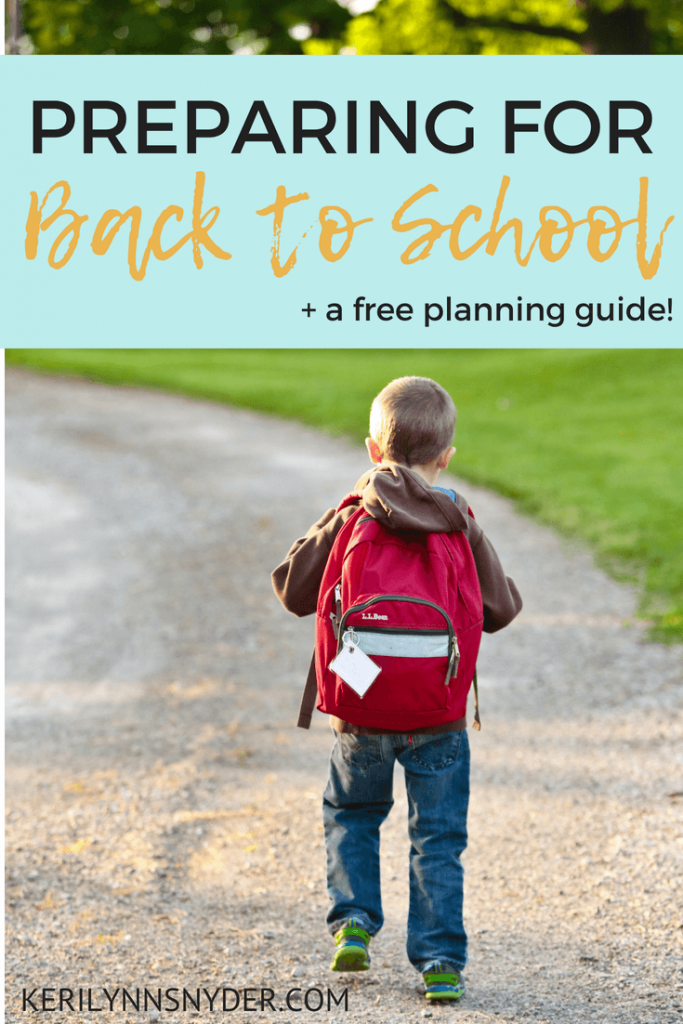 Back to School Series, Join the free email series and receive your free guide to help cultivate a thriving family this school year.