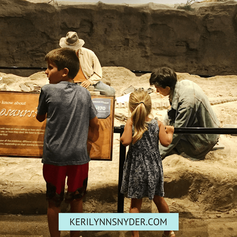 Tips for visiting the Creation Museum with family by Keri Lynn Snyder Blog