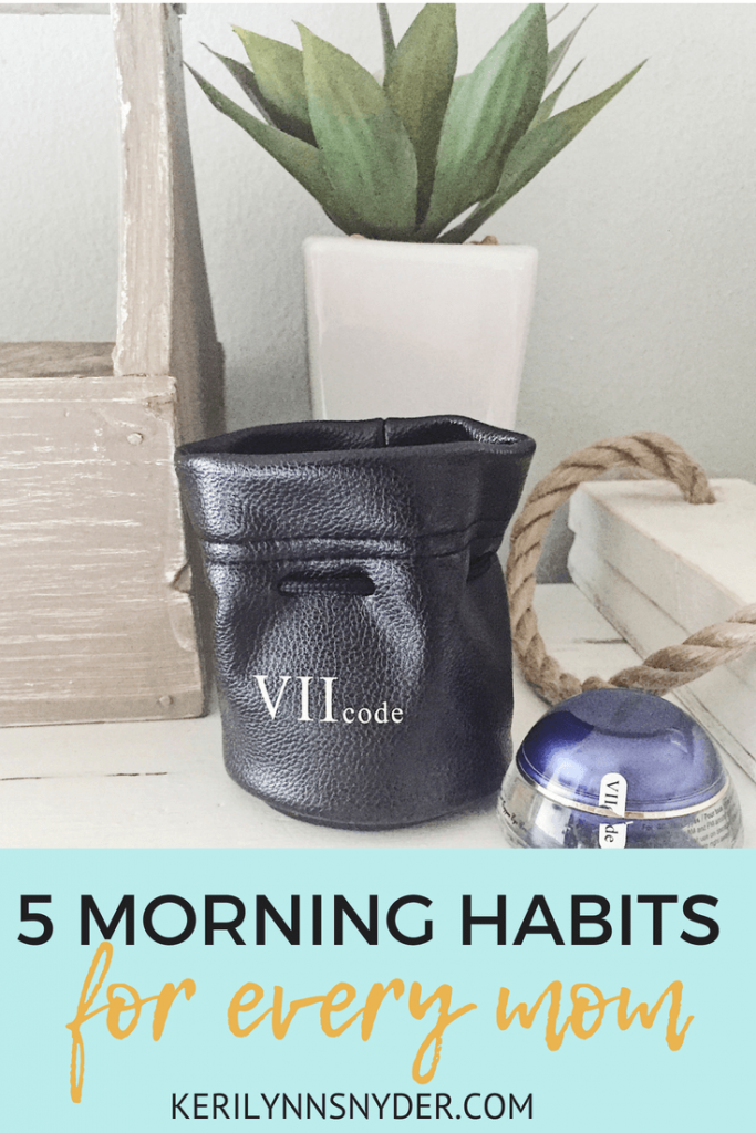 Morning habits to help you feel energized, tips for the tired mom- from Keri Lynn Snyder, Lifestyle Blog