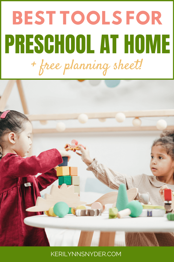 The best tips for preschool at home