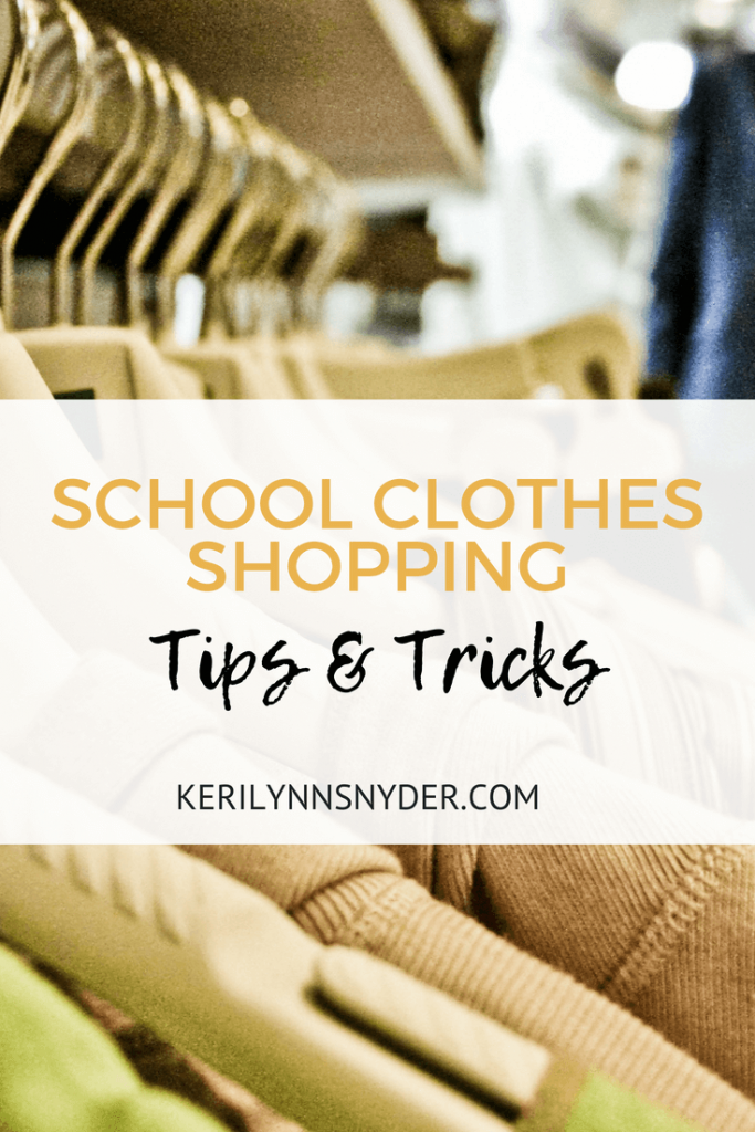 Head school clothes shopping with these tips and tricks