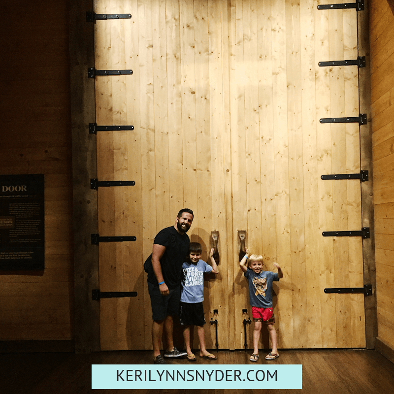 The best tips for visiting the Ark Encounter as a family. Family vacation spot- Keri Lynn Snyder, Lifestyle Blog