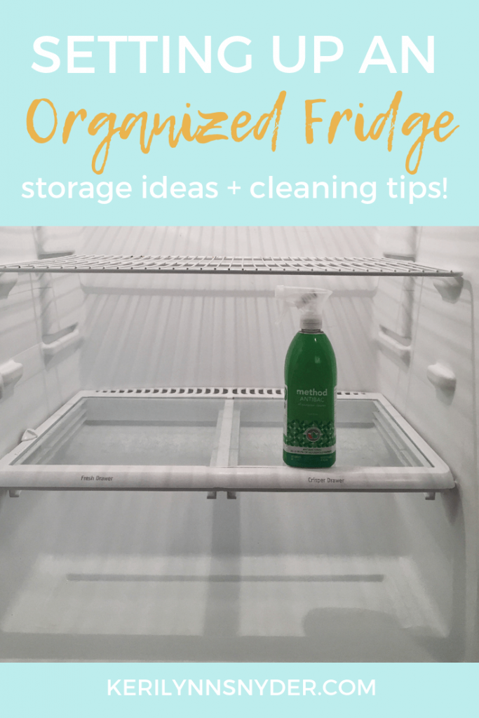 The best tips for an organized fridge. Fridge storage ideas and organization