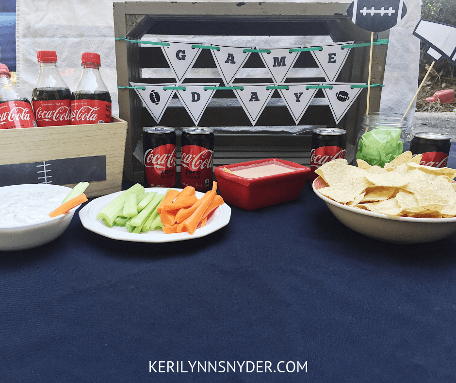 DIY Football Homegating Party, Free Printable Planning Pack, Simple Healthy Recipes + Easy Decor to Gather Your Family to Watch Football, Keri Lynn Snyder, Lifestyle Blog