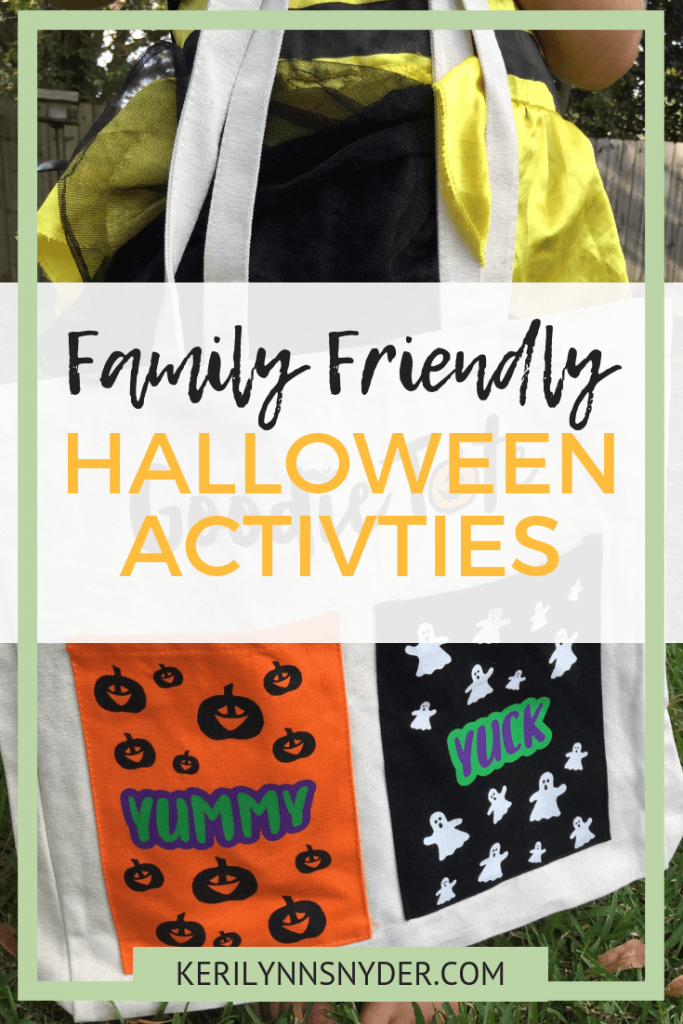 Halloween Family Friendly Activities, perfect for celebrating fall. Keri Lynn Snyder, Family Lifestyle Blog