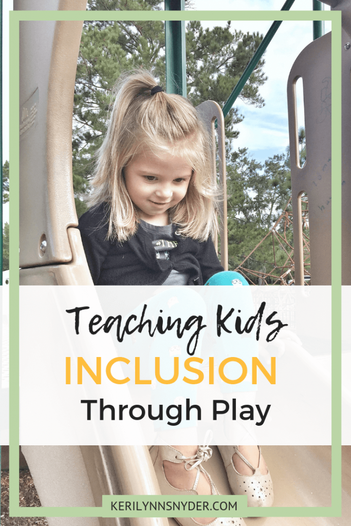 Teaching Kids Inclusion through Play and the importance of it. Sensory Awareness