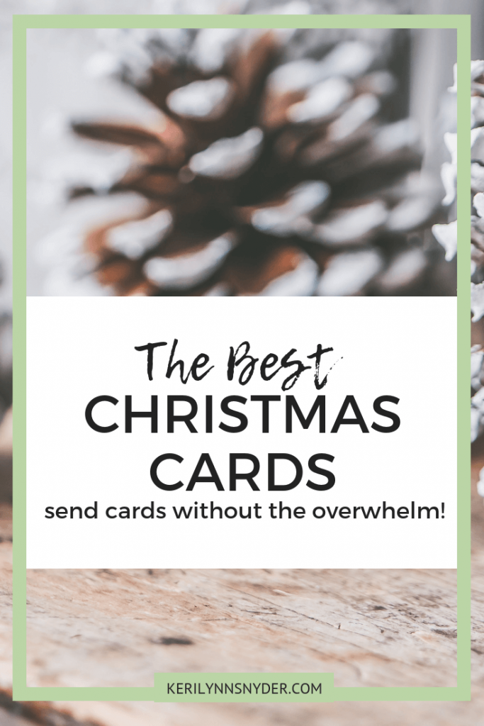 The best Christmas cards around- learn how to use Minted to make sending Christmas cards stress free!