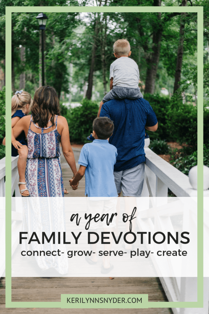 A year of family devotions, Family discipleship resource, Family Kit, Monthly Family Devotional Theme