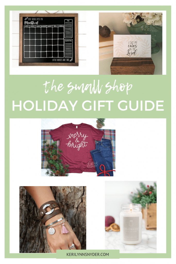 Small Shop Holiday Gift Guide, The best 5 small shops to shop at this holiday season