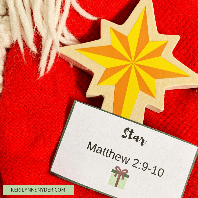 Countdown to Christmas activity with a nativity, Christmas scavenger hunt, free printable cards