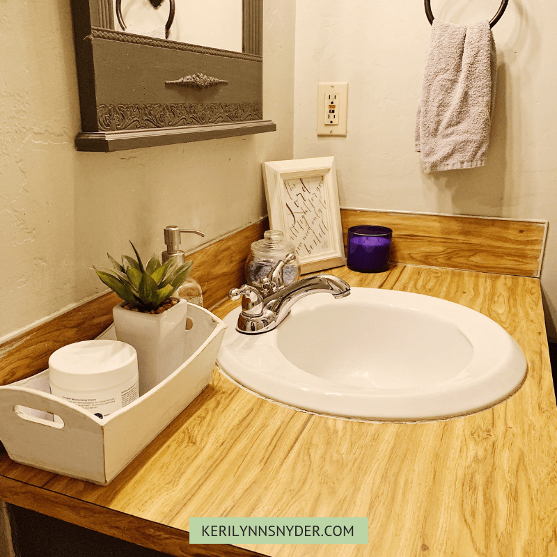 Tips To Update And Organize A Small Bathroom Keri Lynn Snyder
