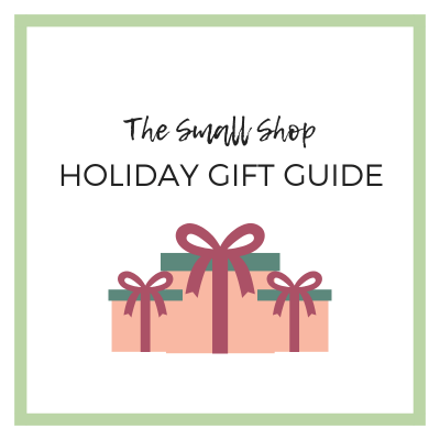 Small Shop Holiday Gift Guide