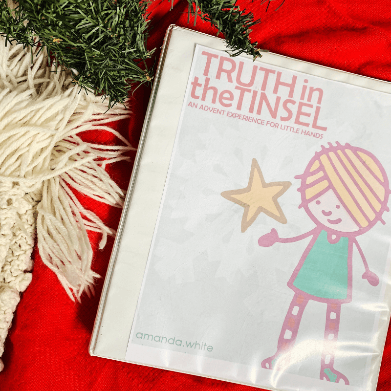 Learn how to host a Truth in the Tinsel Swap Party with friends, advent activity