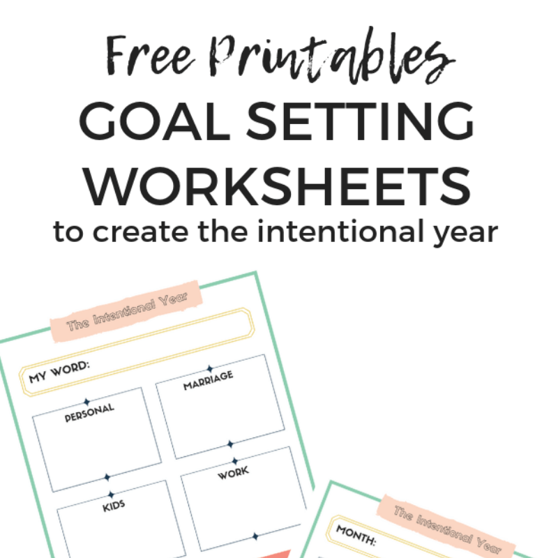 picture relating to Goals Printable known as Strategies for Atmosphere Ambitions + Cost-free Worksheets - Keri Lynn Snyder