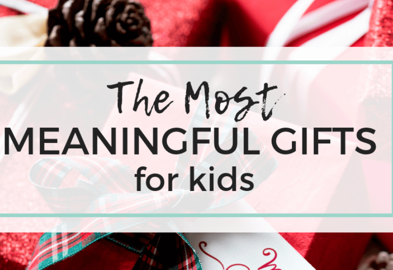 Meaningful gifts for kids, non toy gift ideas. Family Lifestyle Blog, Keri Lynn Snyder