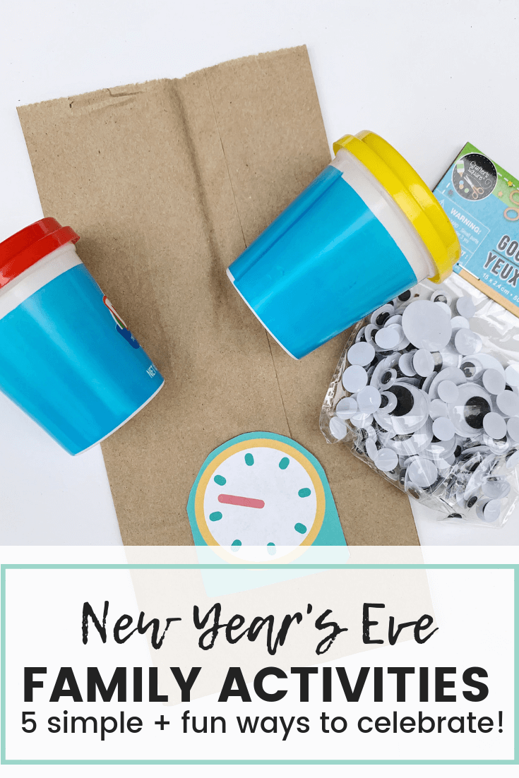 New Year's Eve Family Activities, 5 Simple activities to celebrate the New Year With, Printable Pack, Keri Lynn Snyder, Lifestyle Blog