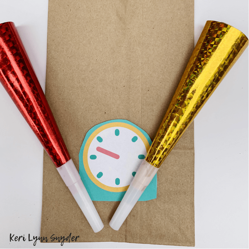 New Year's Eve Family Activities, Countdown Bags, Keri Lynn Snyder, Lifestyle Blog
