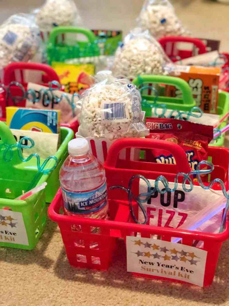 Create a New Year's Eve Survival Kit for Kids