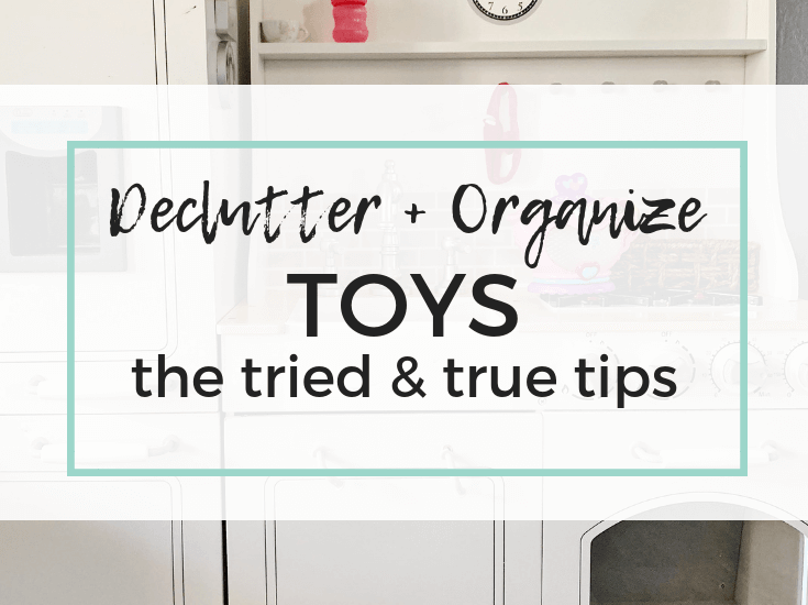 Toy organization tips to help you declutter and organize toys. Keri Lynn Snyder, Family Lifestyle Blog