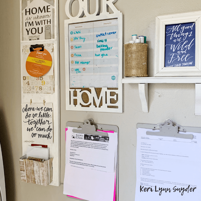Kitchen decluttering and organization tips, Keri Lynn Snyder lifestyle blogger