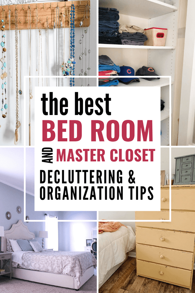 The best bedroom and master closet decluttering and organization tips, jewelry organization, how to declutter your clothes. Keri Lynn Snyder, Family Lifestyle Blogger