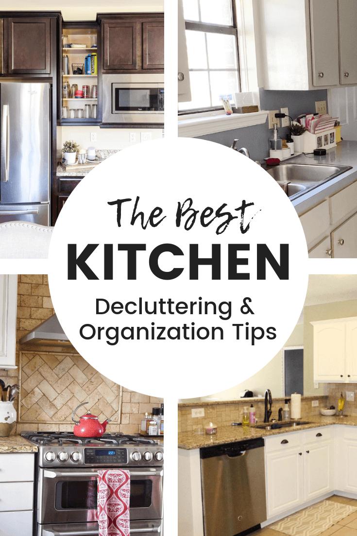 The best kitchen decluttering and organization tips. Lifestyle Blogger, Keri Lynn Snyder