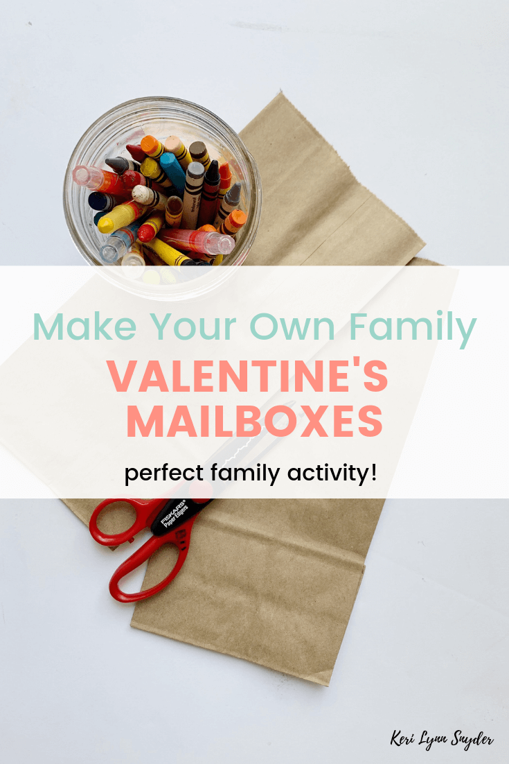 How to make your own family valentine's mailboxes, Valentine's family activity, Learn how to make this simple craft!