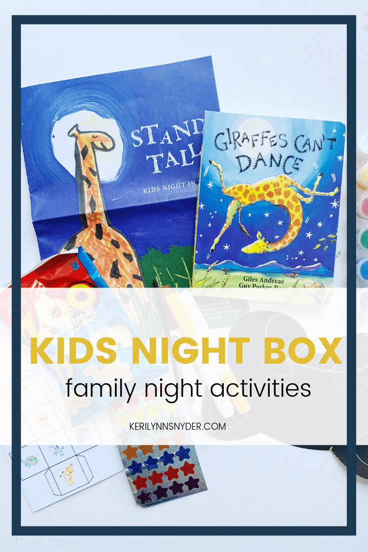 Kids Night In Box, A great way for families to connect