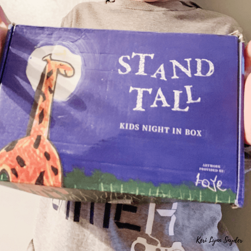 Create meaningful moments with the Kids Night in Box
