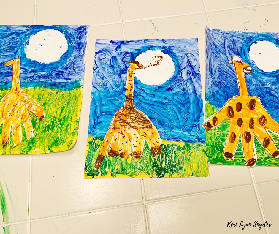 Kids Night In Box Review, Art Activity for Family Time