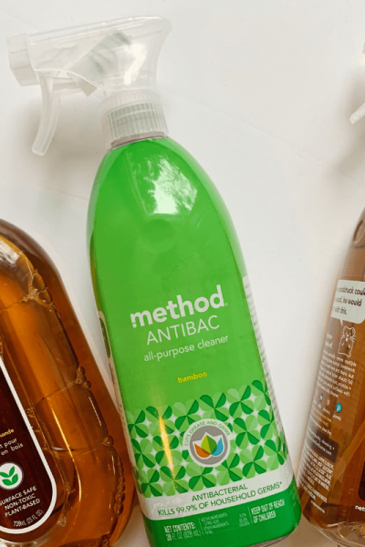 The best natural cleaning supplies, Method Wood Cleaner, Method Anti Bac, Method Wood Cleaner. Grab your free cleaning supplies