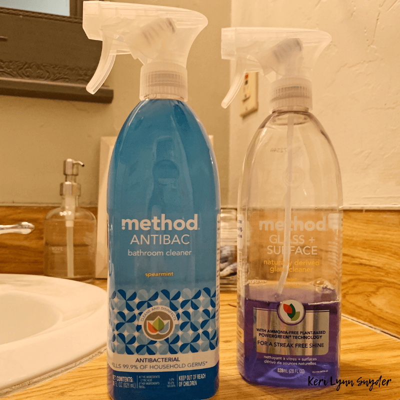 The best natural cleaning supplies, Method Bathroom cleaners, Grab your free cleaning supplies