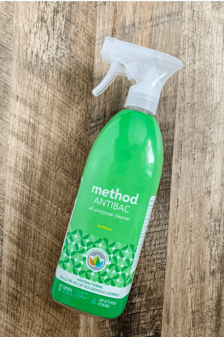 The best natural cleaning supplies, Method Anti Bac,. Grab your free cleaning supplies