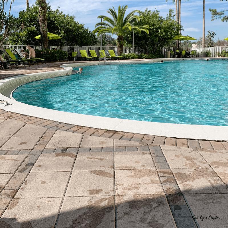 Budget Friendly Disney Trip, Hotel Pool