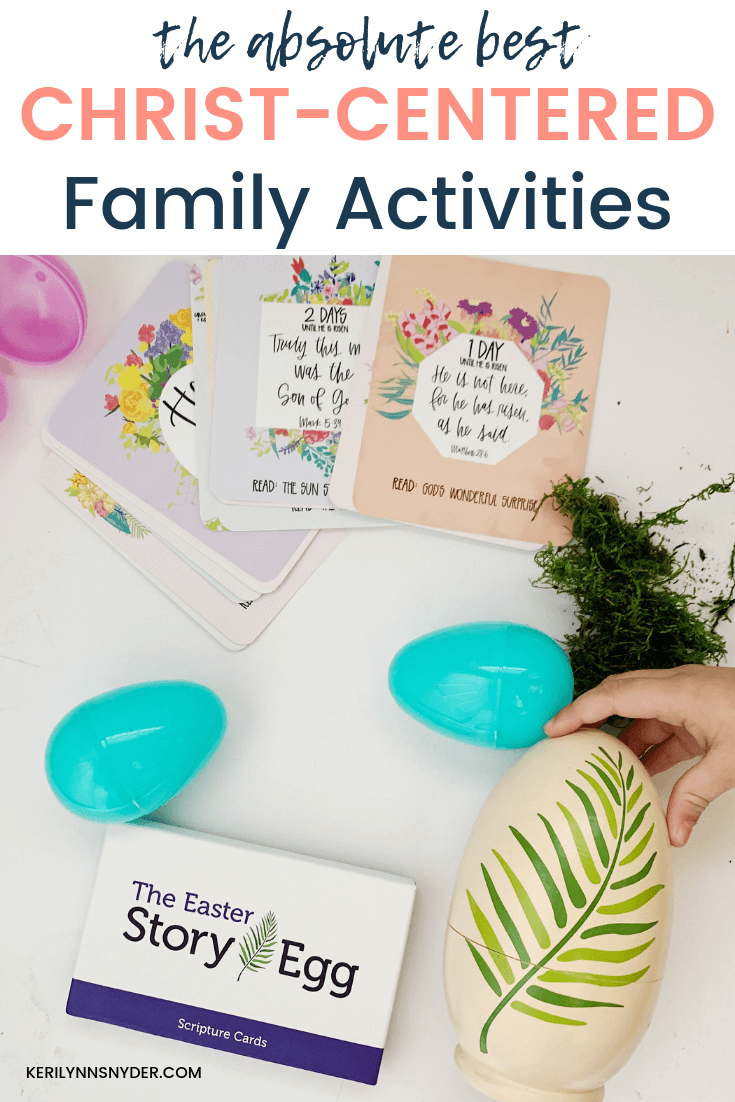 Christ-Centered Easter Family Activities, The best list of ideas for celebrating Easter with intention