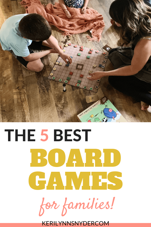 The best family board games