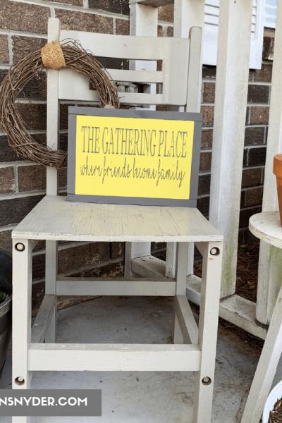 Small Front Porch Decor Ideas