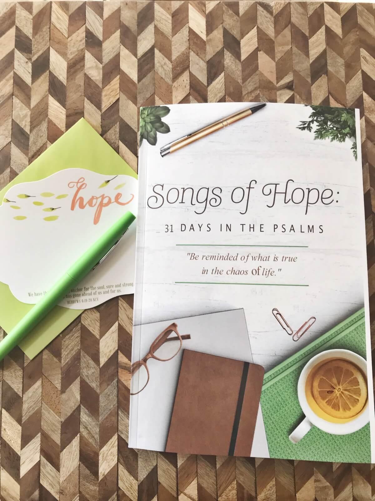 Songs of Hope: Devotional for Women