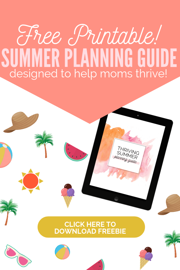 Free Summer Planning Guide