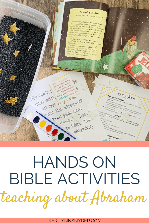 Learn about heroes of the Bible and Abraham with these hands on activities!