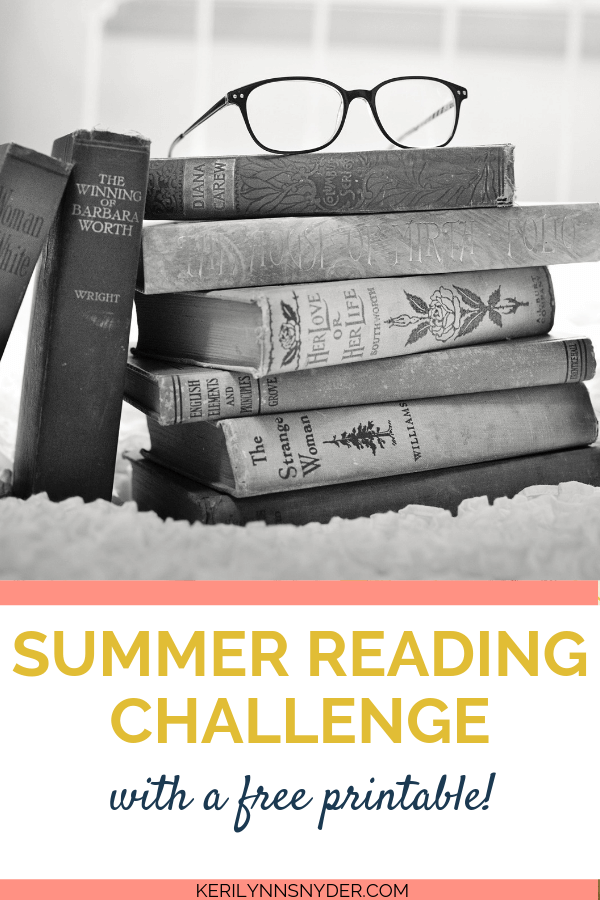 Summer Reading Challenge, Grab the free printable bingo card!